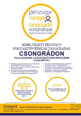 Kitelepülés Csongrádon