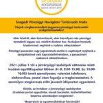Szeged PNTI – ismét engedélyezett a személyes ügyfélfogadás 2021.07. hóban @ Szeged PNTI Iroda