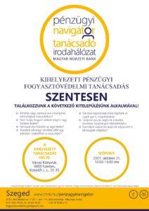 Szeged PNTI – kitelepülés Szentesen 2021.10. hóban @ Szentes - Városi Könyvtár